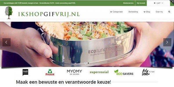 huwelijkscadeau van IkshopGifvrij.nl