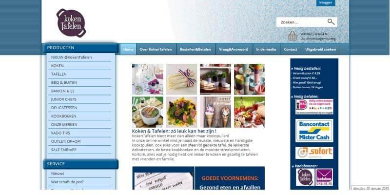 huwelijkscadeau van Kokentafelen.nl