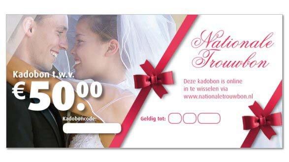 huwelijkscadeau online